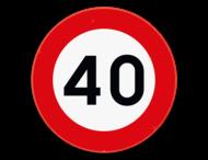 Verkeersbord - Leeftijd