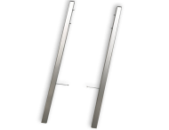 Montagerahmen TS6 - gebürstetes Aluminium - 2er-Set