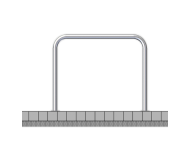 Fietsbeugel staal - 1000x1000mm - ø48mm