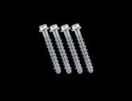 SlowStop - Schroefanker set voor Type 1&2