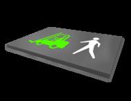 Vloermarkering - symbolen / pictogrammen - wegenverf