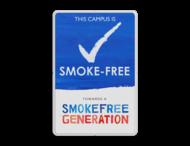 Informatiebord basic - Smoke-free Generation
