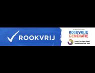 Spandoek Rookvrije Generatie - Met logo en/of beeldmerk