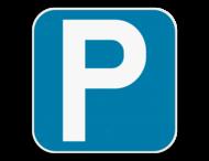 Parkeerbord vierkant 225x225 E9a