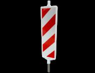 Baken Sb250 Ia1+Ib1 rood wit (dubbelzijdig reflecterend klasse 3)