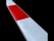 Bareelprofiel SB250 - 2000mm - rood/wit