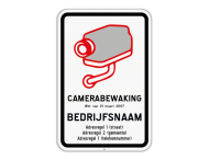 Camerabord België - wet van 21 maart 2017 - Vlakke uitvoeringg