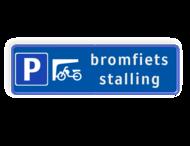 Parkeerbord - bromfietsen stalling