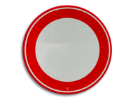 Verkeersbord RVV C01 - klasse 3