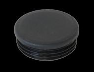 Kunststof Inslagdop Ø76mm - zwart