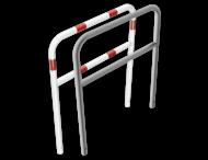 Geleidehek staal - tussenligger - 1000x1200mm - in de grond