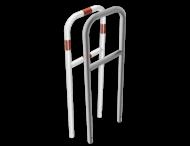 Fietsbeugel staal - 500x1400mm - in de grond