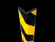 Randbescherming geel/zwart - hoek 60x60mm - zelfklevend of magnetisch