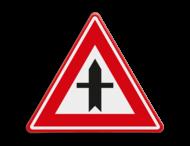 Verkeersbord RVV B03 - Voorrangskruispunt, je hebt voorrang