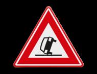Verkeersbord RVV J34 - Vooraanduiding ongeval