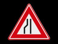Verkeersteken RVV J19 - klasse 3