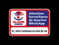 SQWA panneau information 3x2 avec votre texte