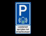 Parkeerbord RVV E08O - laadplaat + tekst - BE04g
