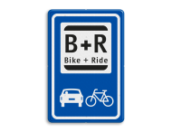 Informatiebord BIKE & RIDE