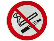 Pictogram - Roken en E-sigaret verboden