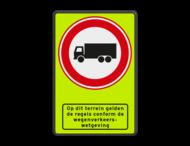Verkeersbord RVV C07 + ODT