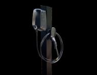 Universele montagepaal voor wallboxen - Elvi Webasto Zappi Alfen - RAL 9005