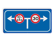 Verkeersbord RVV L10-02lr