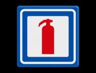 Verkeersbord RVV L17 - Brandblusapparaat