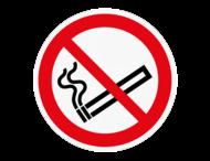 Vloersticker - Roken niet toegestaan