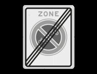 Verkeersbord RVV E03zb - parkeerverbod voor (brom-)fietsers