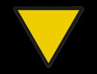 Snelheidsverminderingsbord - RS 226a - 1 getal - Reflecterend