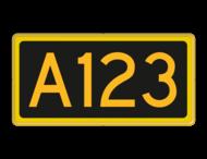 Seinnummerbord (Toegevoegd) - RS - 400x200mm - Reflecterend