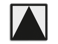 Bord t.b.v. lichtseinen zonder blokfunctie - RS 220/221/222 - Reflecterend