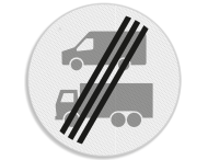 Verkeersbord RVV C22d Einde nul-emissiezone