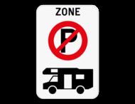 Parkeerverbod campers