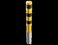 Rampaal Ø152x1500mm - 3,2mm staal + stalen afdekkap