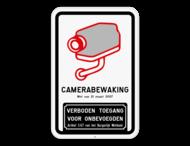 Camerabord België - wet van 21 maart 2017 - Verboden toegang