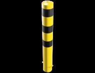 Rampaal Ø152 grondmontage, geel/zwart of verzinkt
