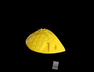 Snelheidsremmer 10km/h eindstuk 230x470x75mm