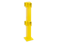 Balustradepalen Black Bull - Hoekpaal 90º 1000x100x100 mm