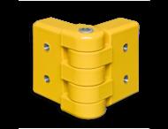 Rambeveiligingsplanken - Hoekplanken scharnier Aluminium