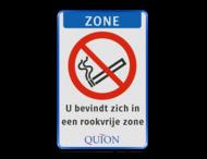 Informatiebord LOGO full-colour - roken verboden