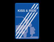 Informatiebord kiss & ride FC eigen ontwerp- einde - L52e