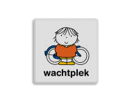 Dick Bruna - Attentiebord wachtplek