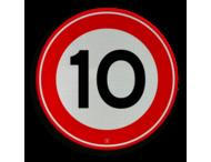 Verkeersbord RVV A01-010