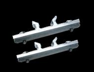 Bordbeugels variabel (set 2 stuks) exclusief RVS klemband