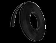 Rubber beschermband voor klemband - 20 mm breed - rol 10 mtr
