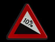 Verkeersbord België A03 - Gevaarlijke daling