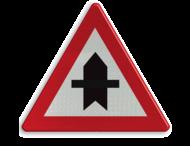Verkeersbord België B15a - Voorrang verlenen.