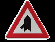 Verkeersbord België B15b - Voorrang verlenen.